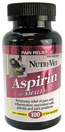 aspirin for dogs as painkiller